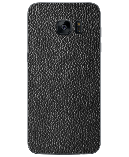 Кожаная наклейка Classic Black  для Samsung Galaxy S7 edge (G935)