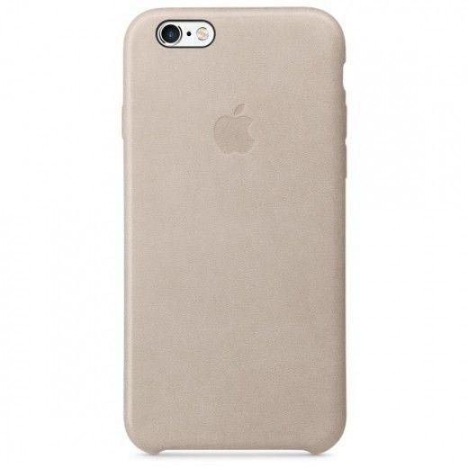 Чехол для Apple iPhone 6s Leather Case Rose Gray (MKXV2ZM/A)