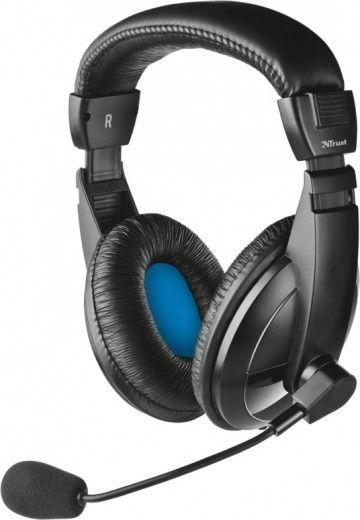 Навушники Trust Quasar Headset Black (21661)