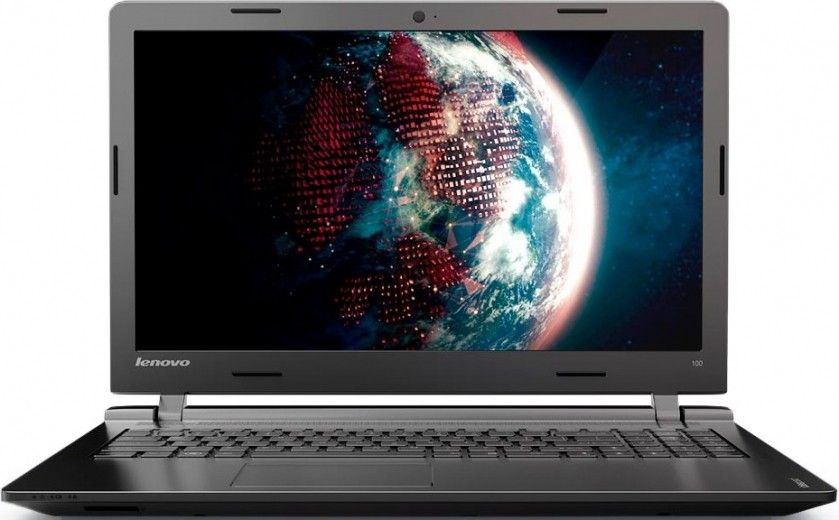 Ноутбук Lenovo IdeaPad 100-15 (80MJ00FAUA) Black