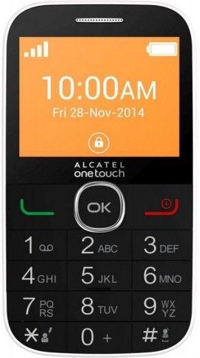 Мобильный телефон Alcatel One Touch 2004C White