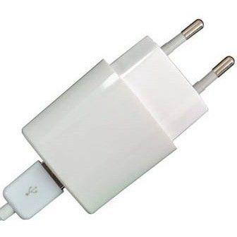 Сетевое зарядное устройство Global MSH-TR-071 (1USB1A) c кабелем для iPhone 5, 6 White (1283126446382)