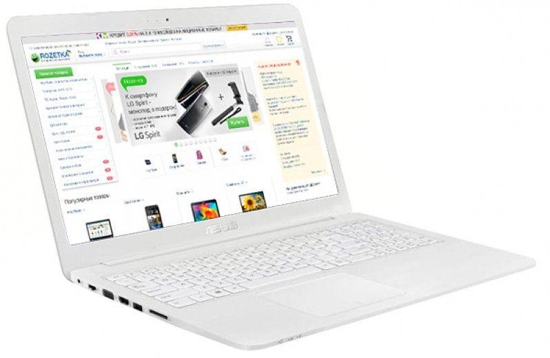 Ноутбук ASUS EeeBook E502MA (E502MA-XX0028D) White