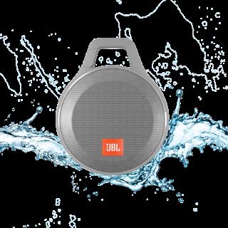 Портативная акустика JBL Clip+ Gray (CLIPPLUSGRAY)