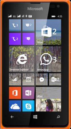 Мобильный телефон Microsoft Lumia 435 DS Orange