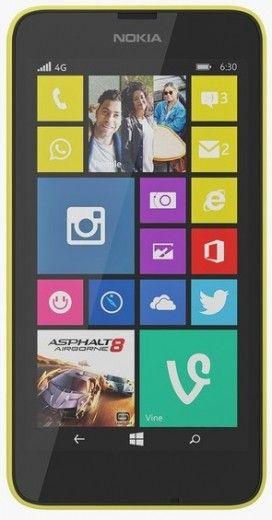 Мобильный телефон Nokia Lumia 630 Dual SIM Yellow