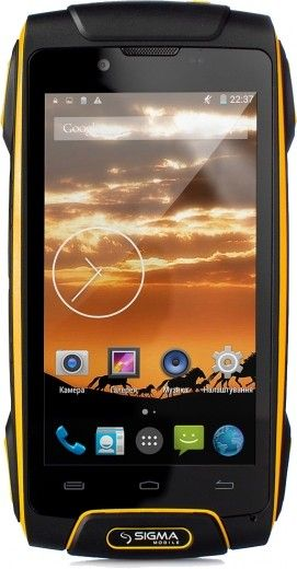 Смартфон Sigma mobile X-treme PQ30 Orange
