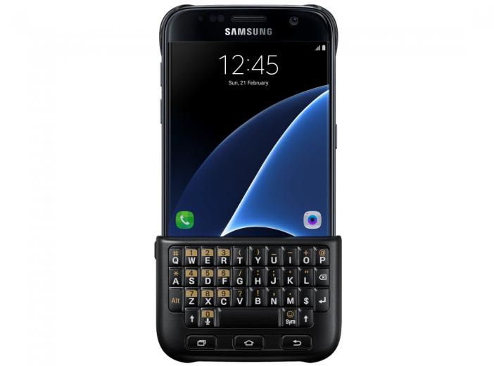 Чехол-клавиатура Samsung Cover для Galaxy S7 Black (EJ-CG930UBEGRU)