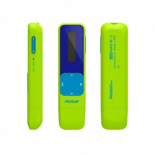 MP3-плеер Pixus Six 8GB New Green