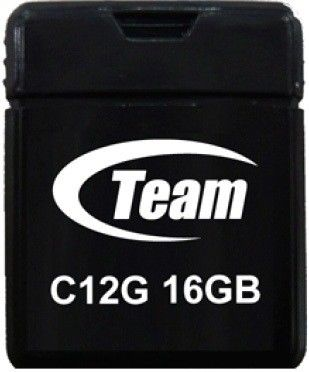 USB флеш накопитель Team C12G 16Gb Black (TC12G16GB01)
