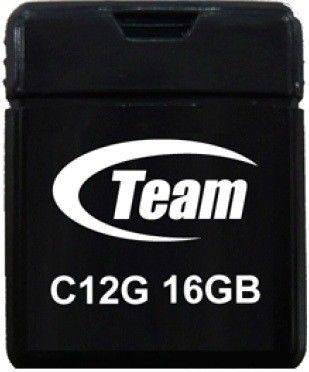 USB флеш накопитель Team C12G 16Gb Black (TC12G16GB01)
