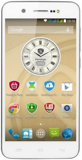 Мобильный телефон Prestigio MultiPhone 5470 Grace X5 White