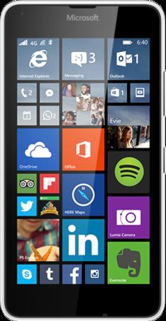 Смартфон Microsoft Lumia 640 Dual Sim White