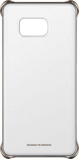 Чехол Samsung Clear Cover для Samsung Galaxy S6 edge+ Gold (EF-QG928CFEGRU)