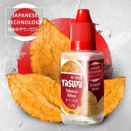 Жидкость для электронных сигарет Yasumi Tobacco Nihon 0 мг/мл