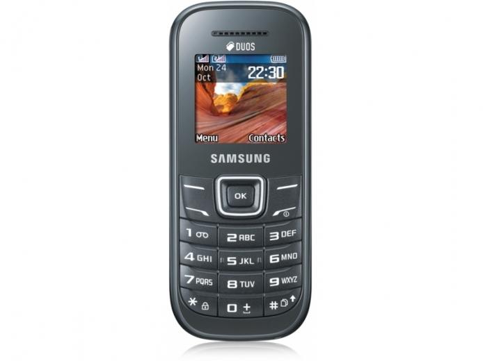 Мобильный телефон Samsung E1202 Duos Dark Gray