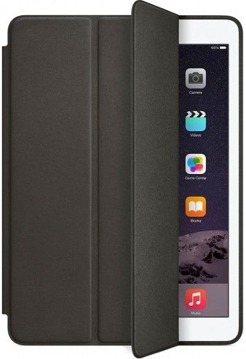 Чехол-книжка Apple Smart Case Leather для iPad Air 2 (MGTV2) Black