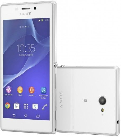 Мобильный телефон Sony Xperia M2 D2302 White