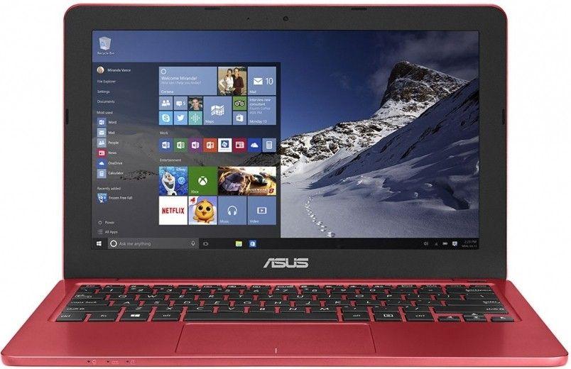 Ноутбук ASUS EeeBook E202SA (E202SA-FD0011D) Red