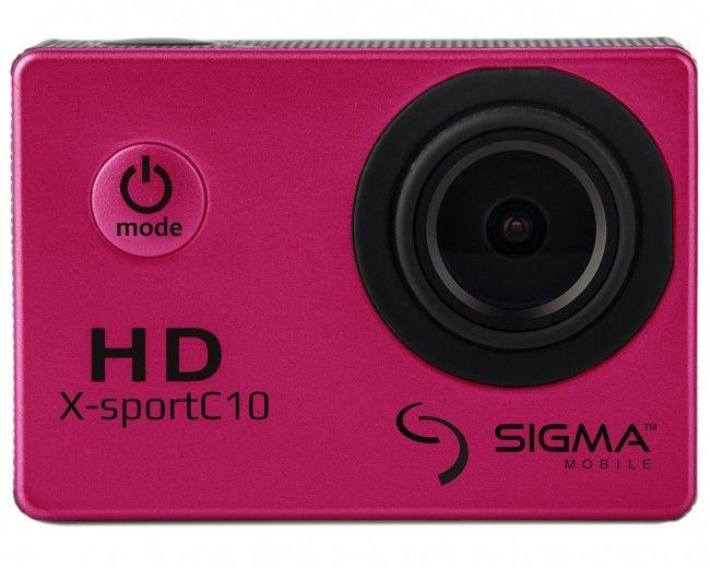 Экшн-камера Sigma X-sport C10 Pink