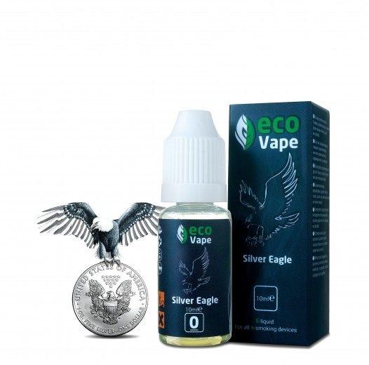 Жидкость для электронных сигарет ECO Vape Silver Eagle 0 мг/мл