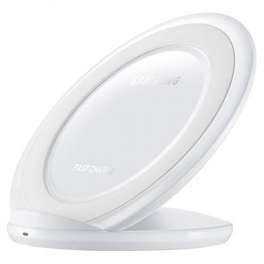 Беспроводное зарядное устройство для Samsung Galaxy S7 White  (EP-NG930BWRGRU)