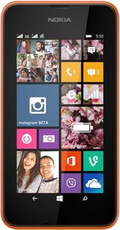 Мобильный телефон Nokia Lumia 530 Dual Sim Orange
