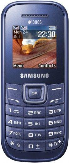 Мобильный телефон Samsung E1202 Duos Indigo Blue