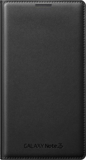 Чехол Samsung для Galaxy Note 3 Flip Wallet Jet (EF-WN900BBEGRU) Black