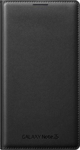 Чехол Samsung для Galaxy Note 3 Flip Wallet Jet (EF-WN900BBEGRU) Black