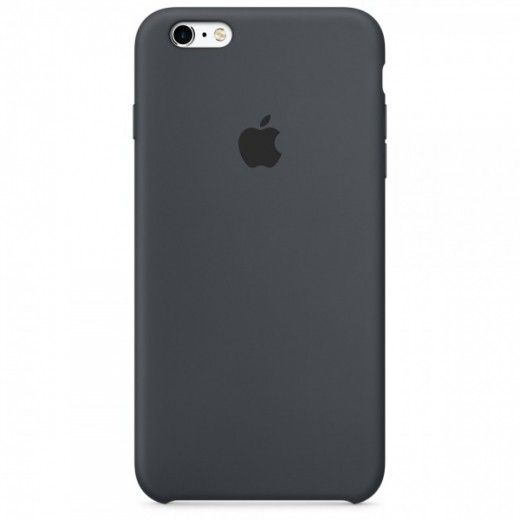 Панель Apple iPhone 6s Silicone Case Charcoal Gray (MKY02ZM/A)