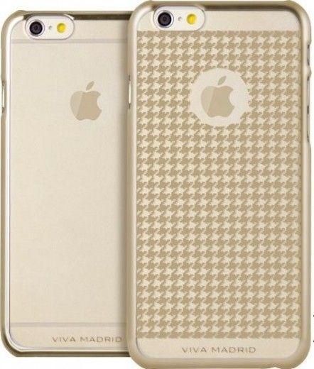 Чехол для iPhone Viva iPhone 6 Metalico Champagne Houndstooth