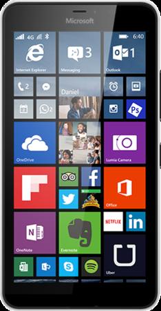 Мобильный телефон Microsoft Lumia 640 XL Dual Sim White