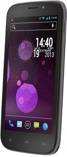 Мобильный телефон Fly IQ4404 Spark Black
