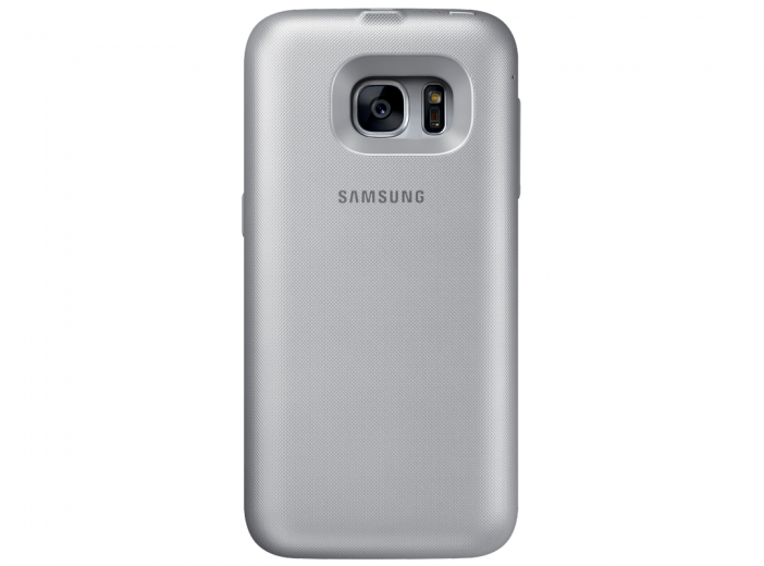 Чехол-аккумулятор Samsung Backpack Cover S7 Edge Silver (EP-TG935BSRGRU)