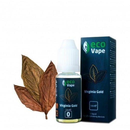 Жидкость для электронных сигарет ECO Vape Virginia Gold 0 мг/мл