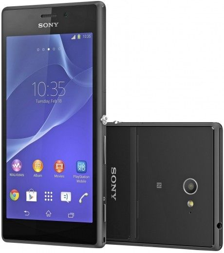 Мобильный телефон Sony Xperia M2 D2302 Black
