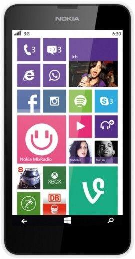 Мобильный телефон Nokia Lumia 630 Dual SIM White