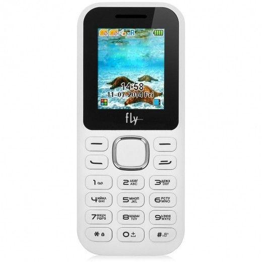 Мобильный телефон Fly DS104D White