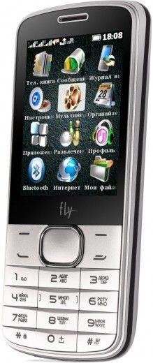 Мобильный телефон Fly TS111 White