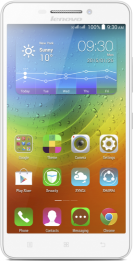 Мобильный телефон Lenovo A5000 White