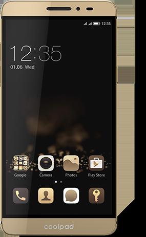 Мобильный телефон Coolpad A8 MAX Champagne