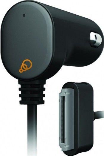 Автомобильное зарядное устройство Cygnett Car Charger Goove Power 2.1 A Apple 30pin Fixed cable Black (CY0345PAAU2)