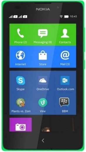 Мобильный телефон Nokia XL Dual sim Green