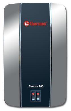 Электрический проточный водонагревательTHERMEX Stream 700 Chrom