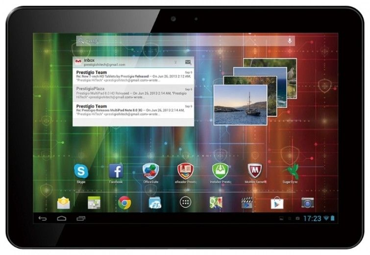 Планшет Prestigio MultiPad 4 Ultimate 10.1 3G Black (PMP7100D3G_QUAD)