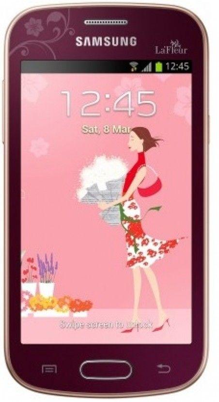 Мобильный телефон Samsung S7390 Galaxy Trend Flamingo Red La Fleur