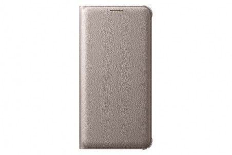 Чехол Samsung Flip Wallet для Galaxy S7 Gold (EF-WG930PFEGRU)