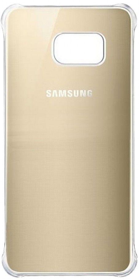 Чехол Samsung Clear Cover-Glossy Cover для Samsung Galaxy S6 edge+ Gold (EF-QG928MFEGRU)