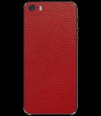 Кожаная наклейка Red Stingray для iPhone 5S/SE